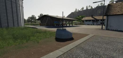 Photo of FS19 – Placeable Field Shaft With Water Trigger V1