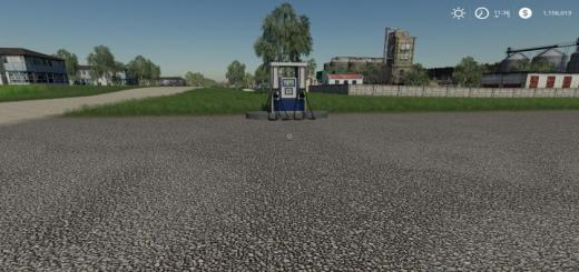 Photo of FS19 – Placeable Gas Station V1