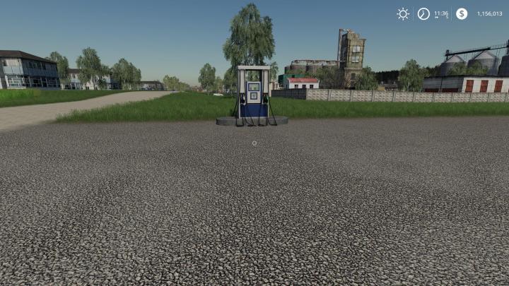 FS19 - Placeable Gas Station V1