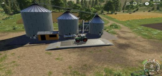 Photo of FS19 – Placeable Large Grain Silo V1.0.1.0