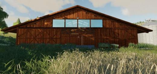 Photo of FS19 – Placeable Straw Warehouse V1.1