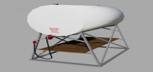 Photo of FS19 – Placeable Us Fuel Tank W/trigger V1