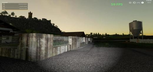 Photo of FS19 – Placeable Wall Pack V1