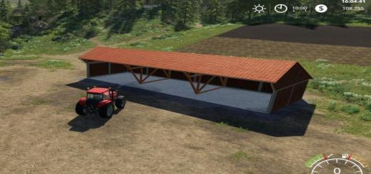 Photo of FS19 – Placeable Wood Shed V1