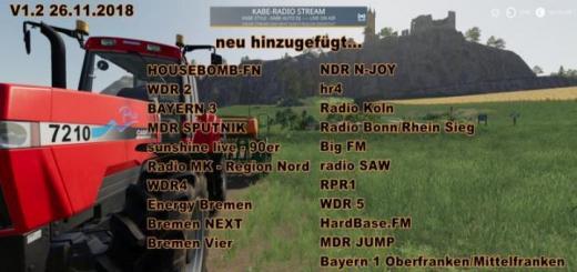 Photo of FS19 – Radio Stream Germany V1.3