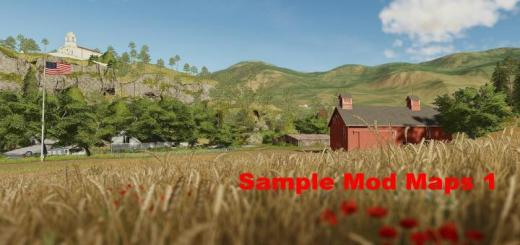 Photo of FS19 – Sample Mods Map Us Complete V1