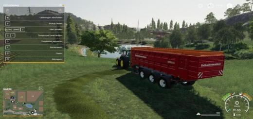 Photo of FS19 – Self Loading Wagon Rapide 8400W Trailer V1