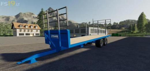 Photo of FS19 – Stewart Gx15 Trailer V1