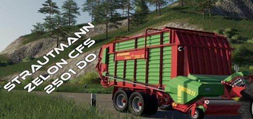 Photo of FS19 – Strautmann Zelon Cfs 2501 Do Trailer V1