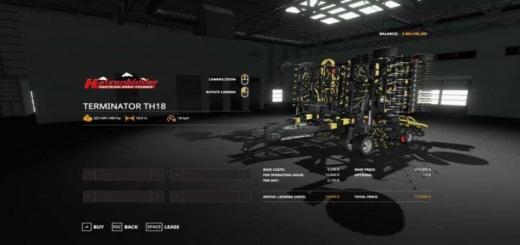 Photo of FS19 – Terminator Th 18 (Black Edition) V1