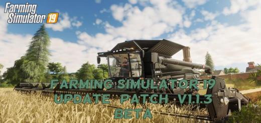 Photo of FS19 – Update (Patch) V1.1.3 Beta