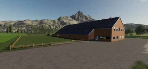 Photo of FS19 – Yard With Cowshed And Willow Beta