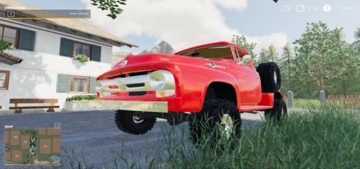 Photo of FS19 – 1956 Ford F100 V1