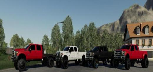 Photo of FS19 – 2011 Ford F350 V1