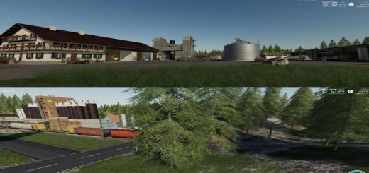 Photo of FS19 – Agricultural Peninsula Map V1.2