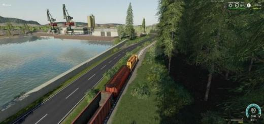 Photo of FS19 – Agricultural Peninsula Map V1.4