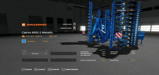 Photo of FS19 – Amazone Pack Metallicedit V1