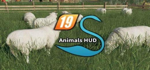 Photo of FS19 – Animals Hud V3.1