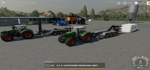 Photo of FS19 – Atc Container Handling Pack V1.0.0.1