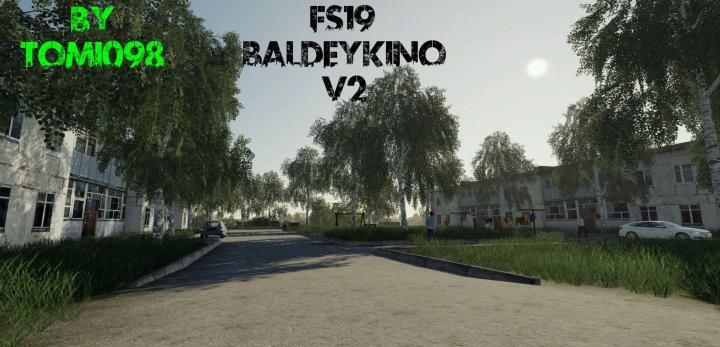 FS19 - Baldeykino Map V2