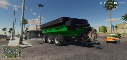 Photo of FS19 – Balzer 2000 Grain Cart V1