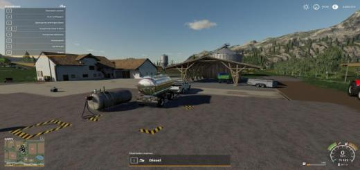 Photo of FS19 – Befullbare Hoftankstelle V1