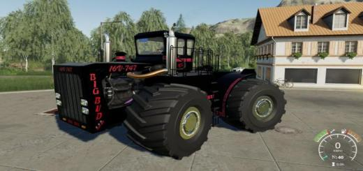 Photo of FS19 – Big Bud 747-450 Black Beast V1.0.1.1