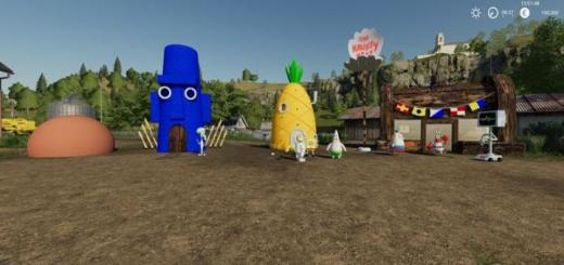 Photo of FS19 – Bikini Bottom Pack V1.0.1.0