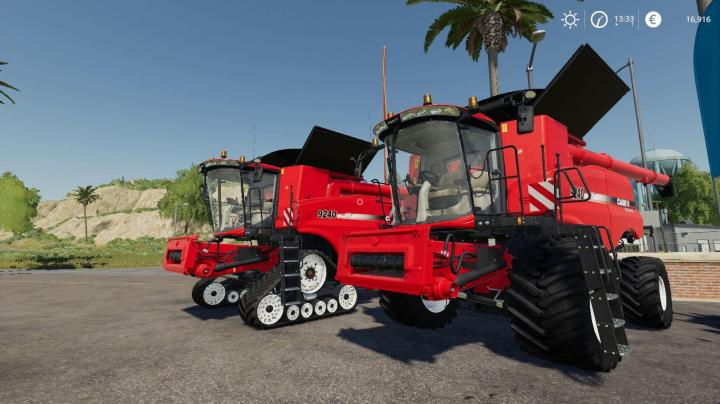 FS19 - Case Ih Axialflow 9240 Series + Cutters