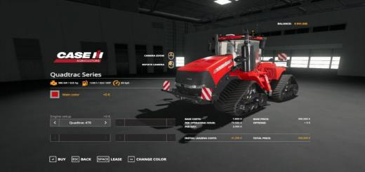 Photo of FS19 – Case Ih Quatrac Series