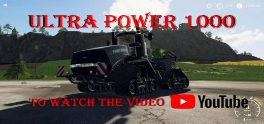 Photo of FS19 – Caseih Quadtrac Ultrapower 1000 V1