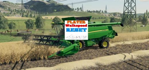Photo of FS19 – Cheats Player Walkspeed Reset V1