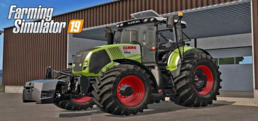 Photo of FS19 – Claas Axion 800 (810, 830, 850) V1