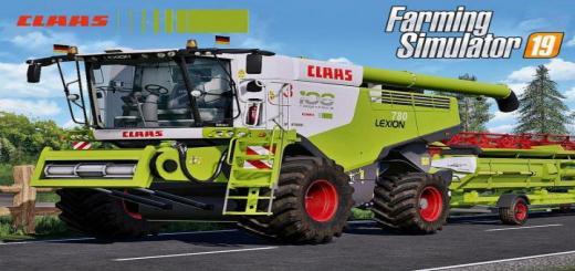 Photo of FS19 – Claas Lexion 700 Series Full Pack V3