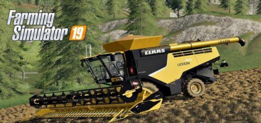 Photo of FS19 – Claas Lexion 760 Usa Harvester V1