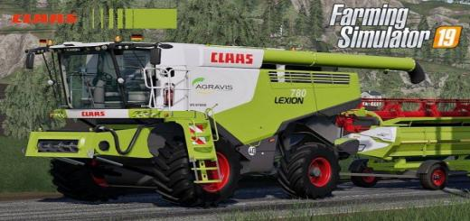 Photo of FS19 – Claas Lexion 780 Full Pack V1