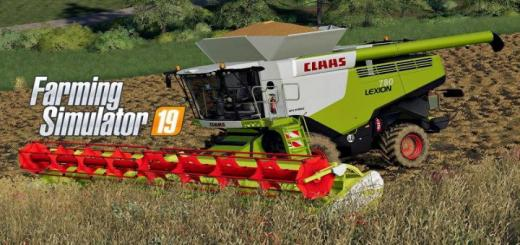 Photo of FS19 – Claas Lexion 780 V1