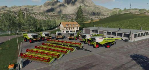 Photo of FS19 – Claas Lexion Pack V1