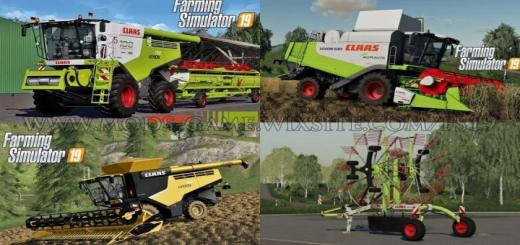 Photo of FS19 – Claas Pack V1.0.1