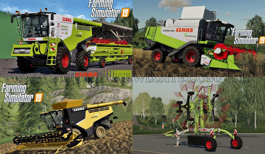 Photo of FS19 – Claas Pack V1