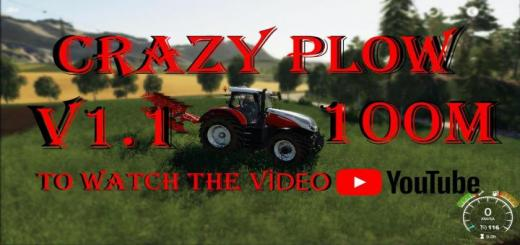 Photo of FS19 – Crazy Plow (Agromasz Poh5) Update V1.1