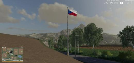 Photo of FS19 – Czech Flag V1