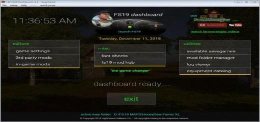 Photo of FS19 – Dashboard V1.1