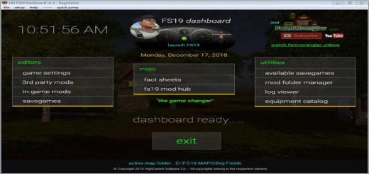 Photo of FS19 – Dashboard V1.2