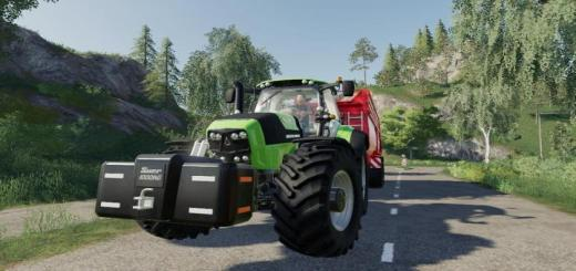Photo of FS19 – Deutz Fahr Series 7 V1