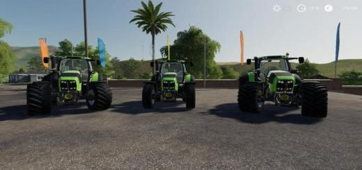 Photo of FS19 – Deutz Series 7 Tractor V1.5