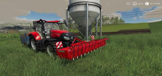 Photo of FS19 – Einbock Front Cultivator V1.1.0.1