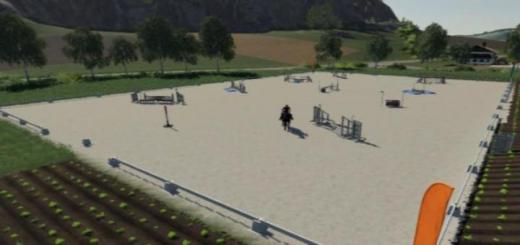 Photo of FS19 – Equestrian Field V1.0.0.1