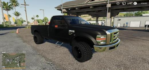 Photo of FS19 – F350 Single Cab Dully V1