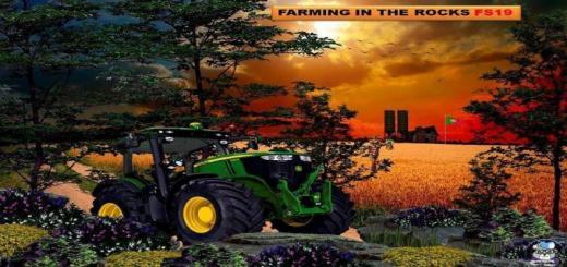 Photo of FS19 – Farming In The Rocks Map V1